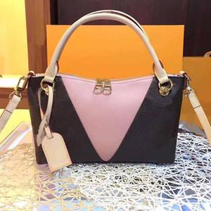 Designer Luxus-Handtasche Normandie L Blumenmuster Doppel-Reißverschluss Frauen deisgner Taschen echte Leder Art und Weise Totes Handtasche Tasche