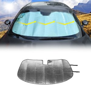 Car Sunshade Front Windshield Sun Visor Provides UV Protection for Dodge Challenger 2009+ UP Car Interior Accessories