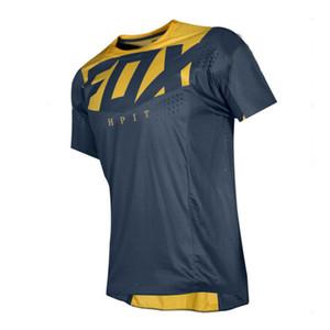hpit marca Fox motocrós camisetas de las camisetas del CAMINO de la motocicleta de la bicicleta ciclo jerseys transpirable con capucha MTB Downhill camiseta de secado rápido