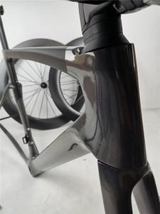 aks 100 x 12 142 * 12 mm sokmak Di2 karbon yol bisiklet çerçeve için uygun olan 2020 yeni karbon yol bisiklet çerçevesi sagan ayna rengi