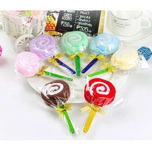 Nuevo lindo MINI Lollipop Baby Cotton Washcloth Towel Favor Regalo Lindo Lollipop Towel Aleatoriamente Envío Gratis