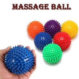 PVC Spiky Masaj Topu Tetik Nokta El Ayak Ağrı Stres Giderici Spor Aksesuarları Muscle Ball 6 Renkler Relax