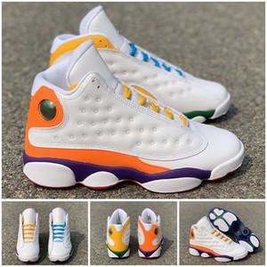 2019 nueva llegada Jumpman 13 GS juegos 3M reflexión 13s blancos y negros 12 hombres de baloncesto calzado deportivo zapatillas de deporte de alto