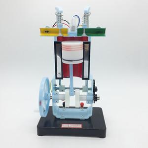 Бензиновый двигатель внутреннего сгорания модель четырехтактного одноцилиндрового младшего школьного физического эксперимента учебное оборудование