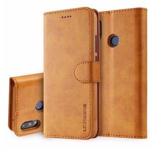 Кожаный флип чехол для huawei P10 P20 lite pro телефон case для Samsung Galaxy S8 S9 Plus Примечание 8 9 S7 флип чехлы обложка бумажник карты держатель книги