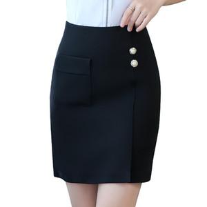 Naviu new fashon pencil skirt high quality faldas mujer moda 2020 summer office lady one step skirt formal bottoms