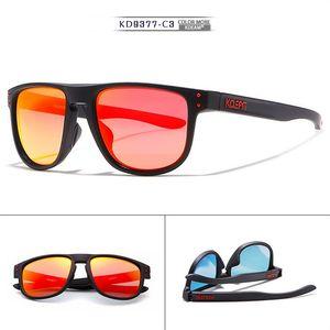 Lunettes de soleil de luxe de qualité pour hommes KDEAM lunettes de soleil polarisées TAC Men Classic Design Miroir de conduite lunettes de soleil Homme Lunettes KD9377