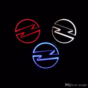 Car Styling 13cm*10cm white Blue Red 5D Rear Badge Bulb Emblem Logo led Light Sticker Lamp For OPEL Vectra Corsa Insignia