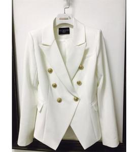 Balmain Roupas Femininas Top Stylist Blazers Womens Suits Brasão Balmain Womens Stylist Vestuário Jacket Tamanho S-XL