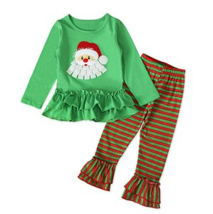 Christmas girl Clothing Set girl Sport Suit fashion Autumn Winter Cartoon Clothing Sets Sweetsets Top Quality
