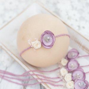 Newborn Photography Props Newborn Flower Headband Baby Girl Photo Props Girls Hair Accessories for Photo Shooting Baby Hairband