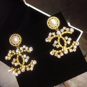 2020 high quality fashion jewelry ladies earrings with party dresses best jewelry charm gorgeous stud earrings QKXV