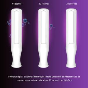 محمول الأشعة فوق البنفسجية مبيد للجراثيم الخفيفة المحمولة حتى UVC ضوء التطهير تعقيم مصباح 2W طاقة البطارية القابضة الأشعة فوق البنفسجية مصابيح