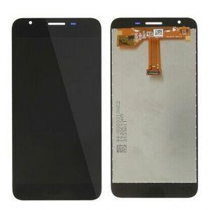 Digitador de tela de exibição LCD para Samsung Galaxy A2 Core A260 Assembléia sem peças de substituição de telefone celular de quadro Preto