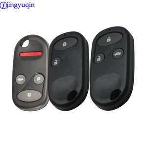 Automobiles & Motorcycles jingyuqin 2 3 4 Buttons keyless remote control key car shell quality is good for Honda Civic crv remote key