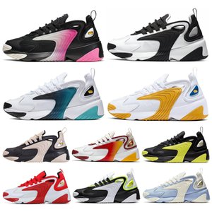 2020 2 36 45 Mk Tekno Zoom K Männer Frauen Laufschuhe Triple-Weiß Schwarz Volt Dynamische Yellow Light Cream Sports Turnschuhe Herren Trainer