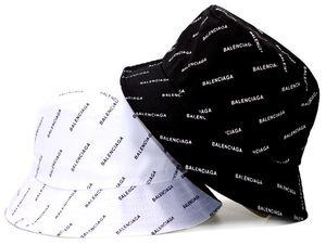 Diseñador de la marca de Algodón Carta de Lujo Cubo Sombrero Para Hombre Para Mujer Gorras Plegables Fisherman Beach Visera Sun Folding Hombre casquette Bowler Cap