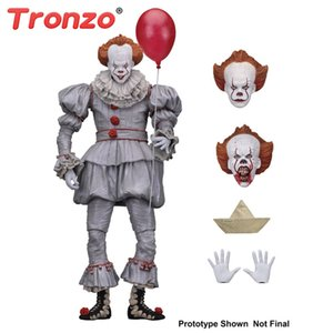 Tronzo Action Neca Pennywise Abbildung 18cm Es Clown Modell Collection Decor Für Halloween Geschenk C19041501