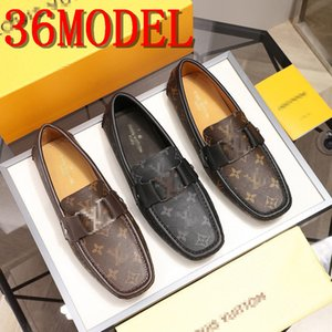 19SS luxurious Casual Leather Loafer Shoes Men Soft Comfortable Driving Shoes Men Moccasins Footwear Mokasin Kasual For Men Schoenen 38-45