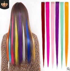 Fashionate Can HOT ROLL CUT Coloreful Piece PP Clip Gradual Change Rayner Straight Hair Pieces Hair Extensions HA121