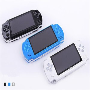 Top quality 32 bits 4.3 inch HD 8G with earphone X6 Classic Game console FC SFC GBA NES handheld gaming Consoles Protable Vibration feedback