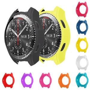 Nueva funda de reloj inteligente de silicona delgada de alta calidad para Samsung Gear S3 Frontier Gift Drop Ship Smartwatch Protector