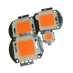 DIY Işık bitki büyür için High Power LED Chip Tam Spektrum Kraliyet 10W 20W 30W 50W 100W