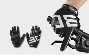 4 colors cycling gloves Lycra Sport MTB Bike Bicycle Climbing Hiking Full finger gloves S-XL