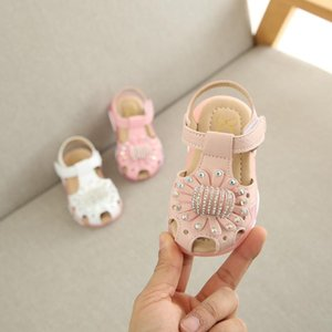 Children Baby girl Crystal Flower Led Light Luminous Sport Sandals Sneaker Shoes Baby First Walkers Clothing Kids Infant #38