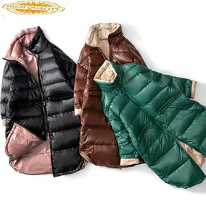 Down Coat Winter Coat Women Puffer Jacket Korean White Duck Down Jacket Women Down Coat Parka Casaco 190423 YY1383