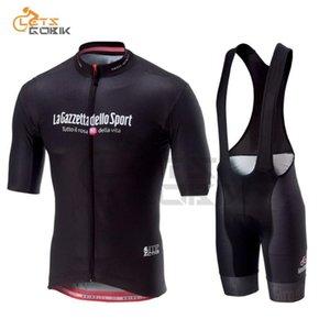 Tour De ITALIA 2020 hommes Vêtements Tenues de cyclisme Kits d'été à manches courtes Cuissard rapide à sec Racing Set Italie