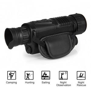 Tactique WG540 numérique infrarouge de vision nocturne Monoculaires pleine obscurité 5x40 200M gamme chasse nocturne monoculaire Optique Vision