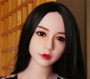 Vendita calda Qualità WMDOLL Testa realistica in silicone Bambola per adulti Testa giapponese adulto bambole teste con orali Sexy