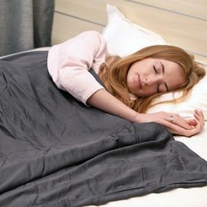 Мир Одеяло с моющимся Bamboo крышка гравитационные Одеяло Тревожные одеяла Набор серый / белый / синий США свободный корабль