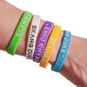 7pcs Baloncesto pulsera de silicona pulsera brazalete de Deportes Casual Baloncesto pulsera para las mujeres de los hombres L