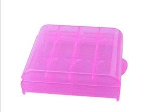 Elistooop caixa de plástico Titular Caixa de armazenamento Capa para 10440 14500 AA AAA Organizer Caso Box Box Battery Container saco caso