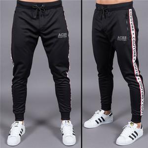 PYHAILLP palestre di alta qualità pantaloni sportivi pantaloni da uomo mens cotone bodybuilding pantaloni lunghi casual moda uomo abbigliamento jogger