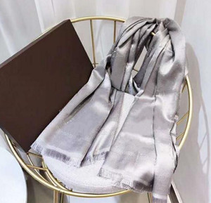 2020 Brand Scarf For women Luxury Letter Pattern silk wool Cashmere Gold thread Designer Thick Scarfs Warm Scarves Size 140X140CM Quality