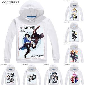 Manjoume Jun Chazz Princeton Mens Hoodies Yu-Gi-Oh GX Duel Monsters Generation Next Men Sweatshirt Streetwear Anime Hoodie Long Hooded