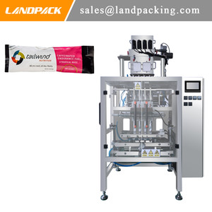 Multi Lanes Small Pouch Packaging Enzyme Powder Stick Packing Machine