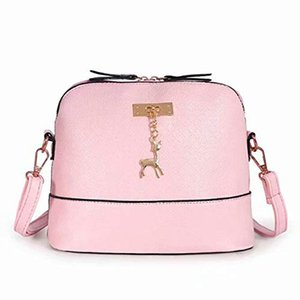 Women Bags Women Messenger Handbagss Fashion Mini Bag Deer Toy Shell Shape Bag Shoulder Bags Messenger Bolso sac a main K160G