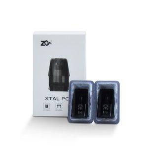 100% 1,8 ml Original ZQ Xtal Pod Atomizador com Ni-cromo bobina 1.2ohm para ZQ Xtal Vape Pod Sistema Kit de substituição esvaziar Cartridge
