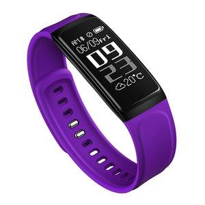 C7S intelligente Bracelet Pression artérielle moniteur de fréquence cardiaque montre Smart Watch Fitness Tracker étanche écran Sport intelligent pour iPhone Android Wristwatch