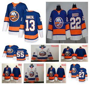 2019 Нью-Йорк Айлендерс ХБО Hockey 55 Джонни Бойчук 27 Anders Ли 51 Филппула 13 Мэтью Барзал 2 Ник Leddy 22 Майк Босси трикотажных изделий