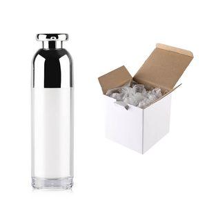 15 ml / 30 ml / 50 ml 100 ml Leere nachfüllbare Acryl hochwertige Airless-Vakuumpumpe Creme Lotion Flasche Reise-Creme Lotion Toner Container Pot