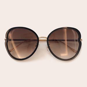 Luxus Sonnenbrille Frauen 2019 Heißer Schmetterling Designer Sonnenbrille Für Weibliche Damen Eyewears Spiegel CH5815
