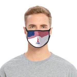 Animal Usa Independence Day Mask For Lady Tapabocas Contaminacion 3D Washable Mask Animal Usa Skate Shoes hotclipper ASPmI