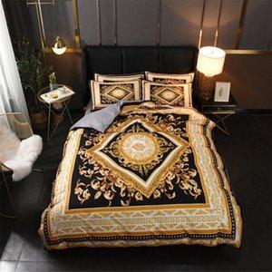 Grande sconto Bedding Classic Cover Bedding serie stampate Quilt Cover di alta qualità regina Fogli Formato Bedding