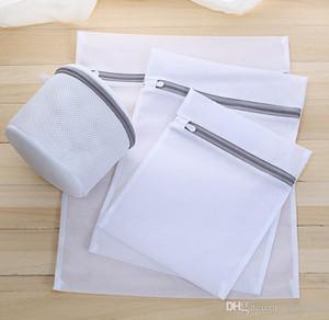 2020 dernière vente chaude fin épaisse maille vêtements de lavage de sac à linge soin laver filet épais sac de lavage sac personnalisé gros