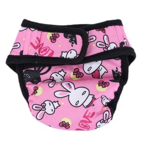 Pet Large Dog Diaper Sanitary Physiological Pants Washable Female Dog Shorts Panties Menstruation Underwear Briefs Short Dog Apparel